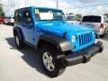 2011 Cosmos Blue Jeep Wrangler Rubicon 4x4  photo #10