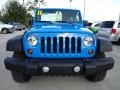 2011 Cosmos Blue Jeep Wrangler Rubicon 4x4  photo #13