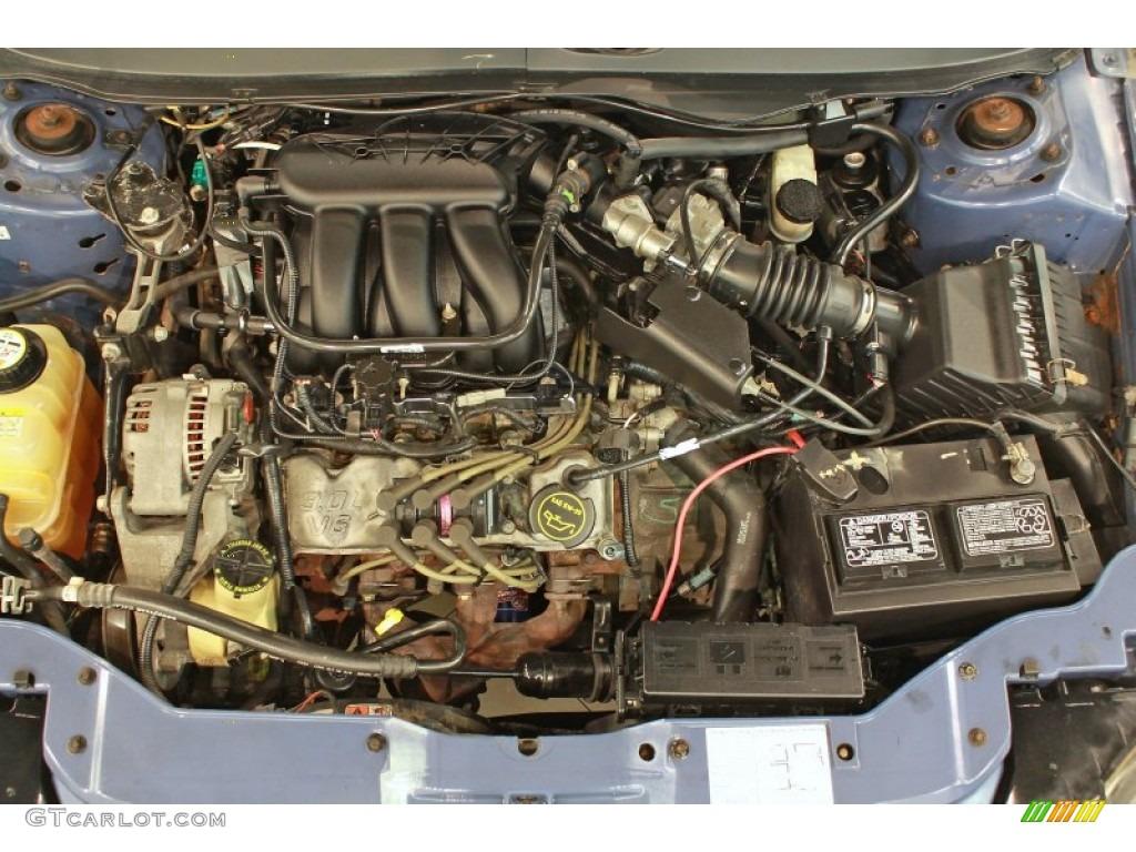 2004 Ford Taurus SES Sedan 3.0 Liter OHV 12-Valve V6 ...