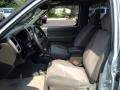 2001 Nissan Xterra Sage Interior Front Seat Photo