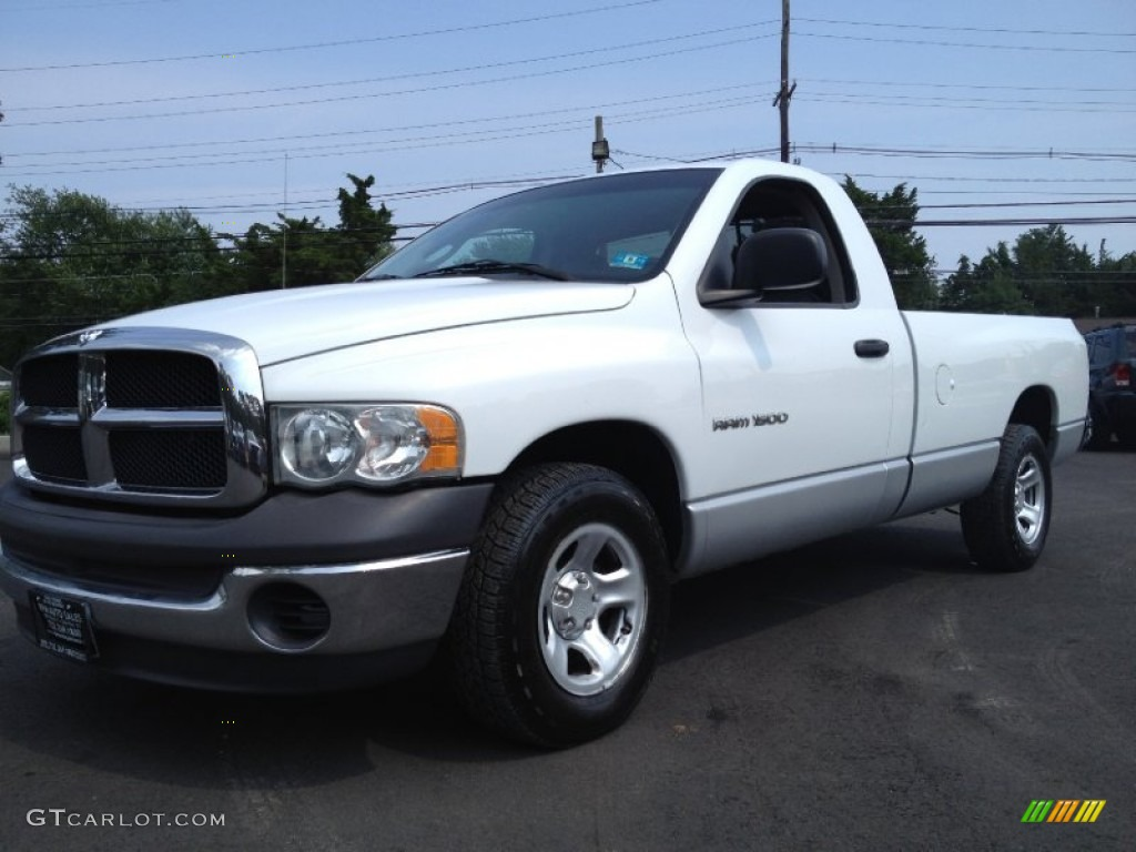 Bright White Dodge Ram 1500