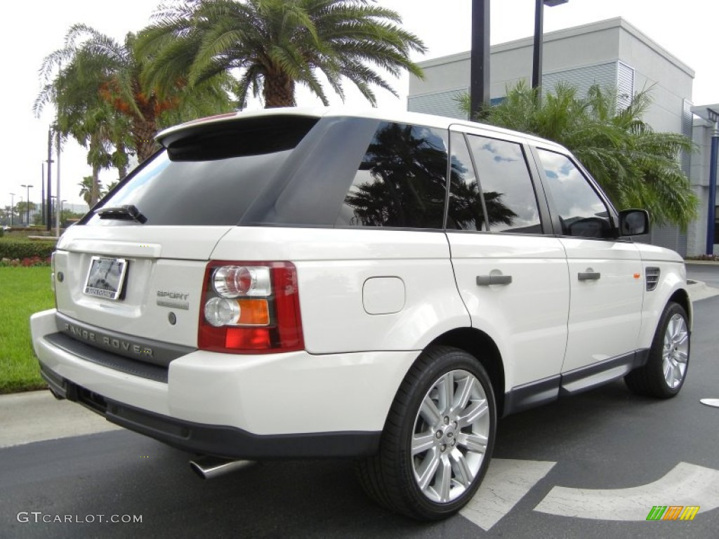 2008 alaska white land rover range rover sport. Black Bedroom Furniture Sets. Home Design Ideas