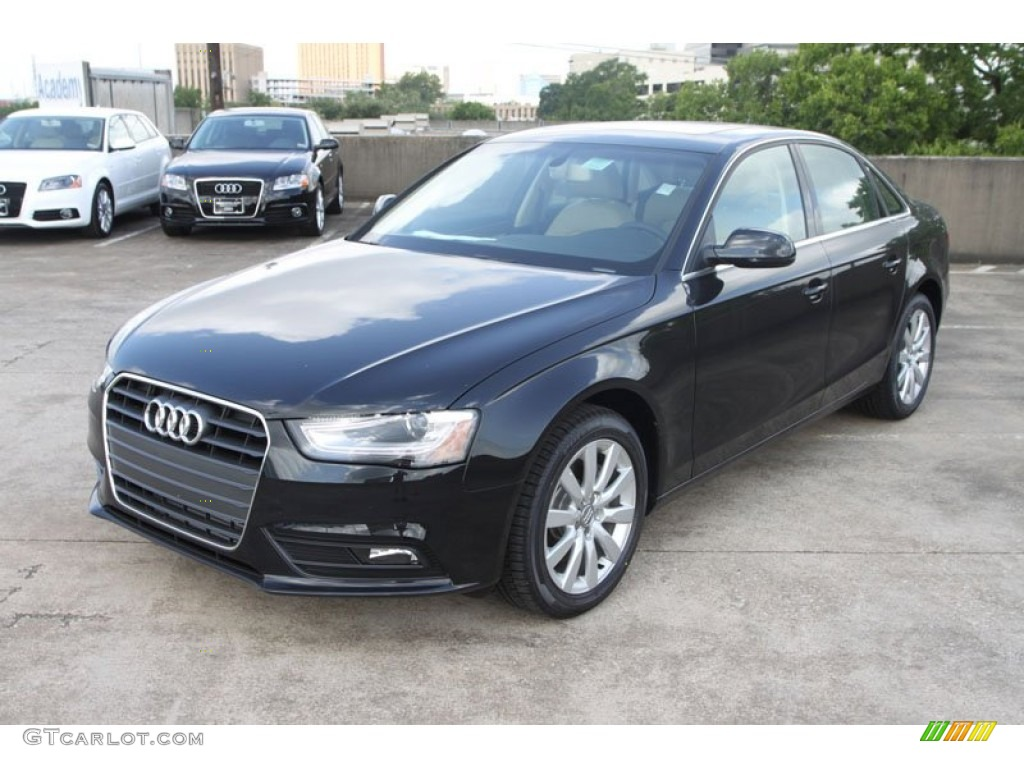 black audi a4 2013 the image kid has it. Black Bedroom Furniture Sets. Home Design Ideas