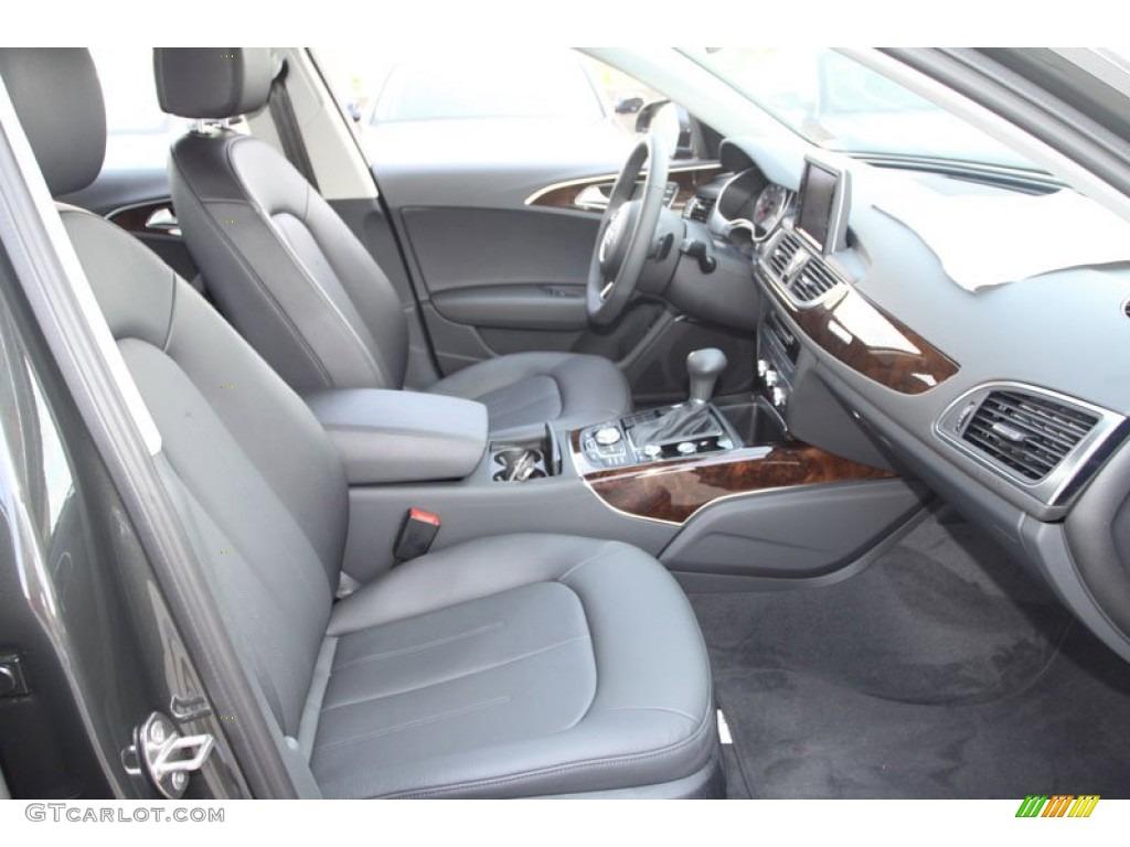black interior 2013 audi a6 2 0t quattro sedan photo. Black Bedroom Furniture Sets. Home Design Ideas