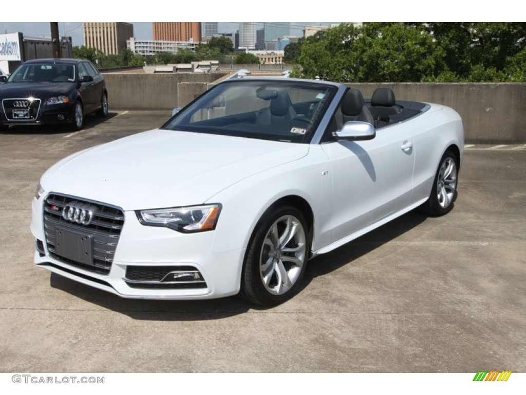 Glacier White Metallic 2017 Audi S5 3 0 Tfsi Quattro Convertible Exterior Photo 68911164