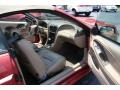 2001 Laser Red Metallic Ford Mustang GT Convertible  photo #10