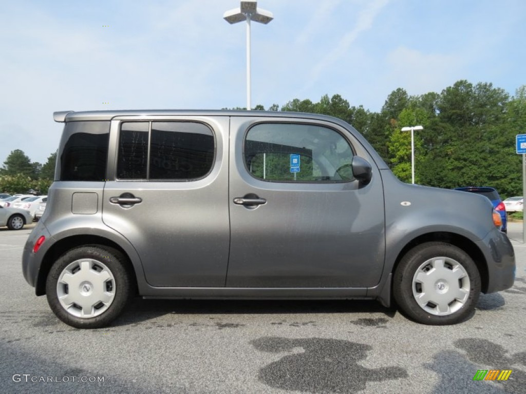 gun metallic 2012 nissan cube 1 8 s exterior photo 68914671. Black Bedroom Furniture Sets. Home Design Ideas