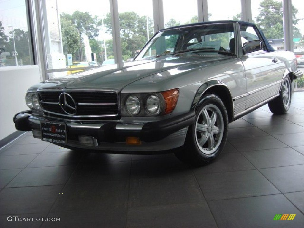 1986 mercedes benz sl class 560 sl roadster exterior. Black Bedroom Furniture Sets. Home Design Ideas
