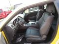 Dark Slate Gray Front Seat Photo for 2012 Dodge Challenger #68929667