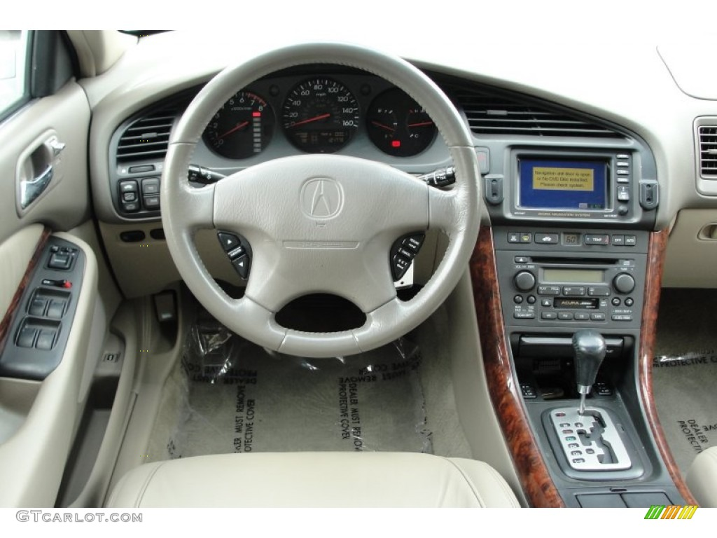 Acura TL Parchment Dashboard Photo GTCarLotcom - Acura tl dashboard
