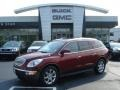 2010 Red Jewel Tintcoat Buick Enclave CXL AWD  photo #1