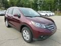 2012 Basque Red Pearl II Honda CR-V EX-L 4WD  photo #6