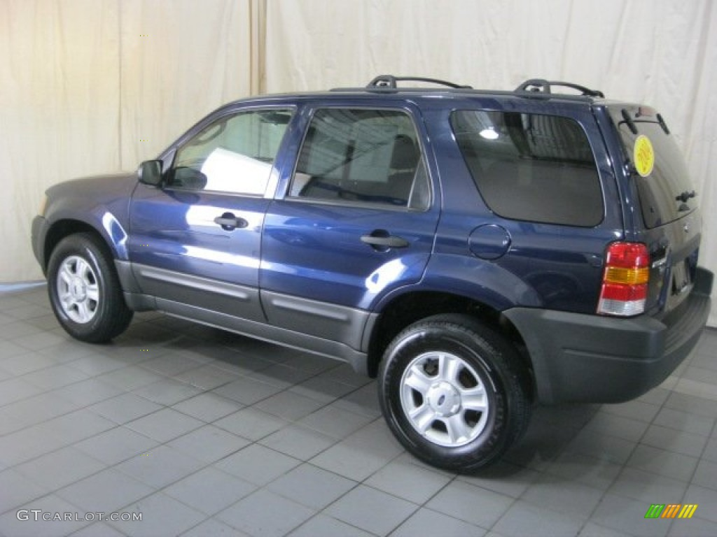true blue metallic 2004 ford escape xlt v6 exterior photo. Black Bedroom Furniture Sets. Home Design Ideas