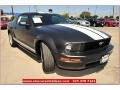 2007 Alloy Metallic Ford Mustang V6 Premium Coupe  photo #9
