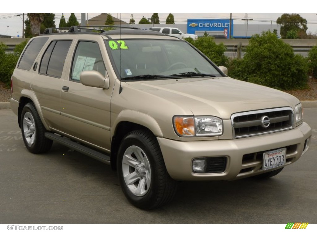 2002 pathfinder le sahara beige metallic beige photo 1