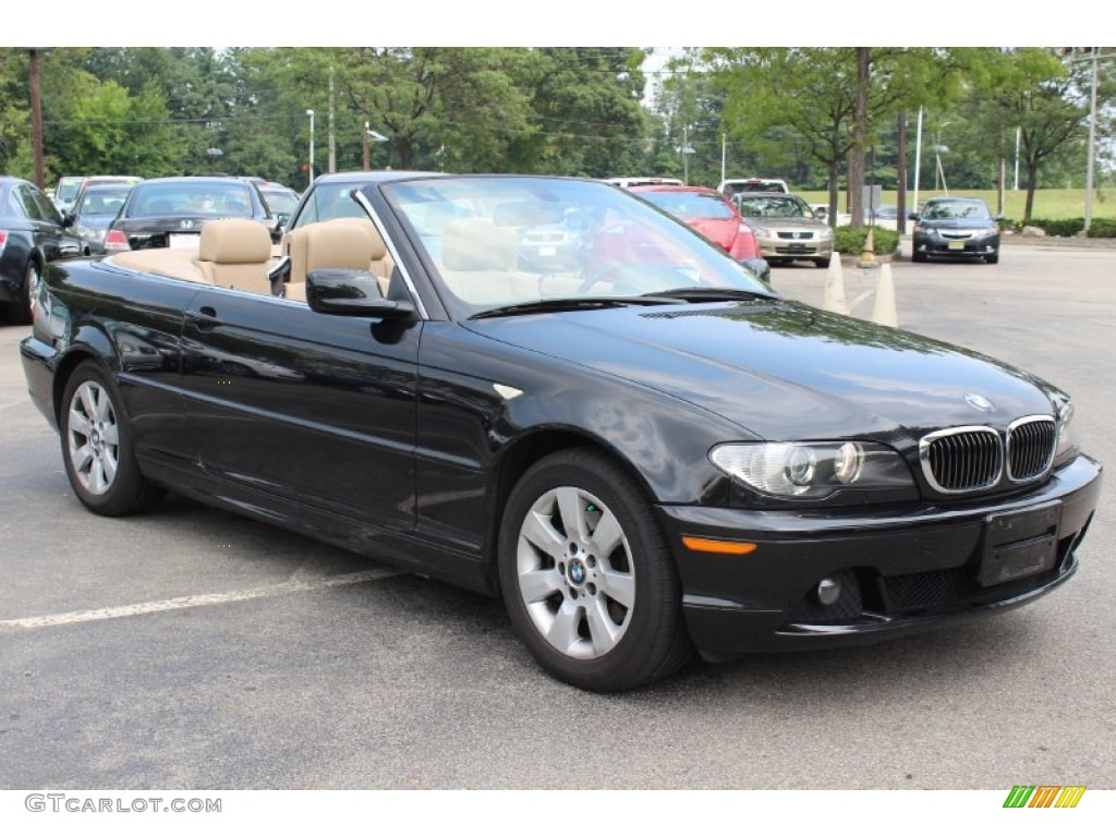 jet black 2006 bmw 3 series 325i convertible exterior. Black Bedroom Furniture Sets. Home Design Ideas
