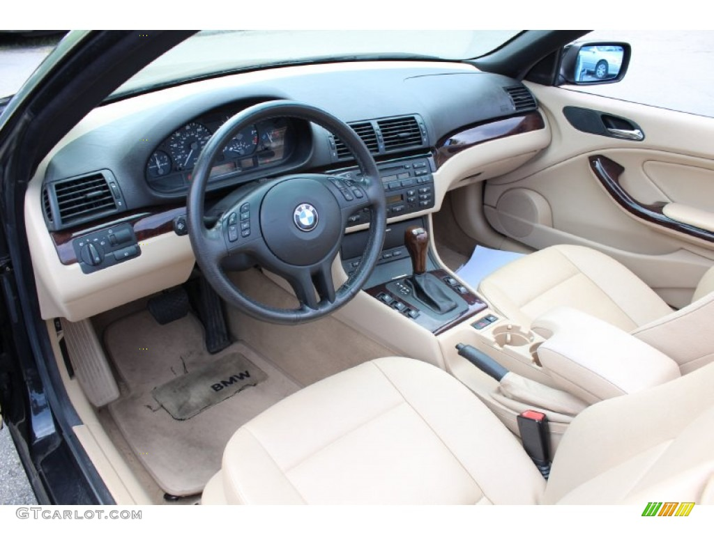 Sand Interior 2006 Bmw 3 Series 325i Convertible Photo