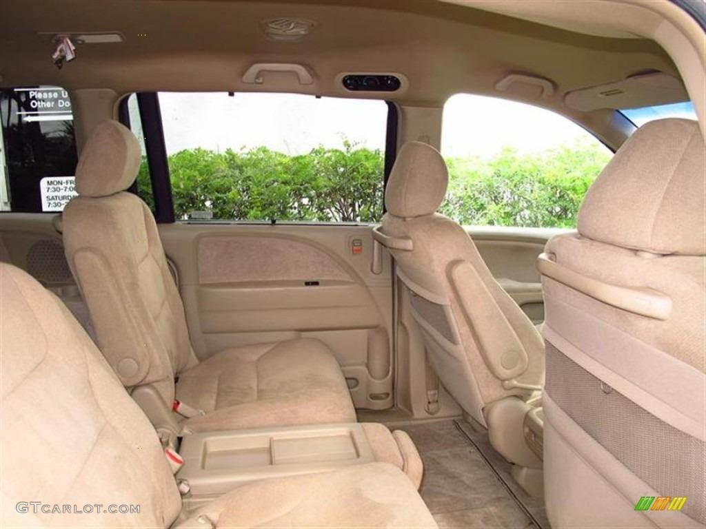 Ivory Interior 2006 Honda Odyssey Ex Photo 68967259