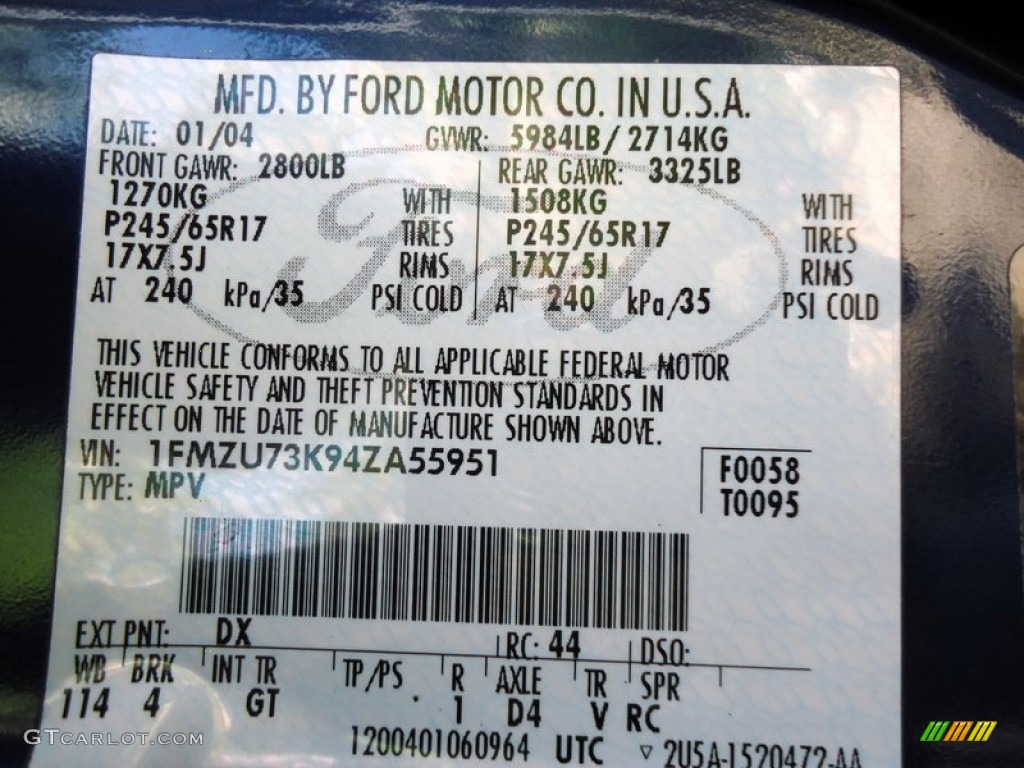 2012 ford explorer how to code the door autos post for Poste informatique compacto