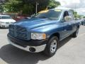 2002 Atlantic Blue Pearl Dodge Ram 1500 ST Quad Cab  photo #3
