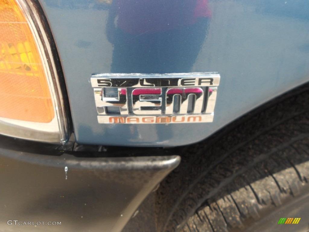 2002 Ram 1500 ST Quad Cab - Atlantic Blue Pearl / Dark Slate Gray photo #21