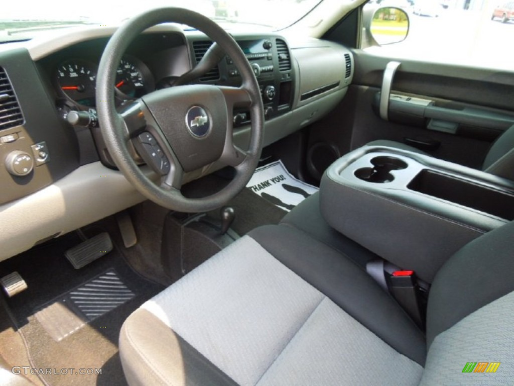 Elegant Dark Titanium Interior 2008 Chevrolet Silverado 1500 LS Crew Cab 4x4 Photo  #68974802 Design Ideas