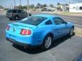 2011 Grabber Blue Ford Mustang V6 Coupe  photo #4