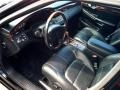 Black 2002 Cadillac DeVille DTS Interior Color