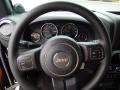 Black Steering Wheel Photo for 2012 Jeep Wrangler #68991040