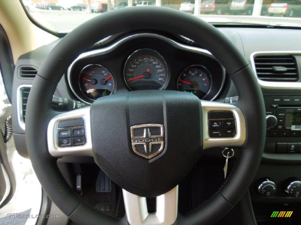 2012 dodge avenger sxt black light frost beige steering wheel photo 68991718 for 2012 dodge avenger interior lights