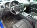 Dark Slate Gray Prime Interior Photo for 2012 Dodge Challenger #68992732