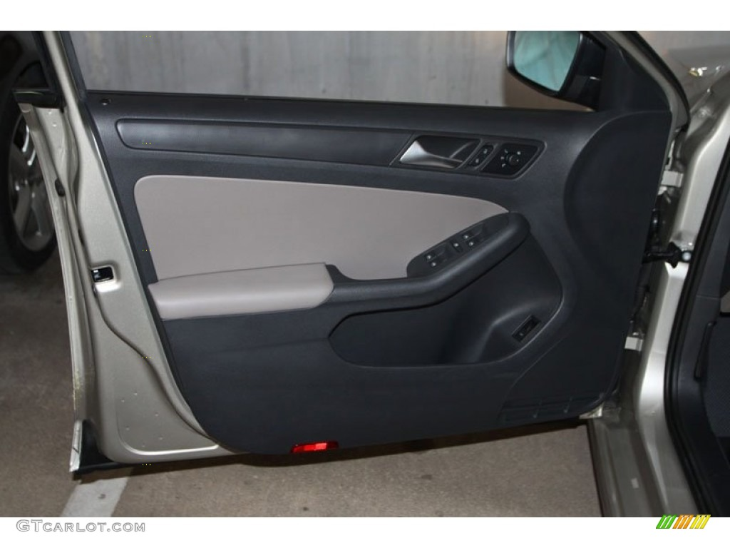 2013 Volkswagen Jetta S Sedan Latte Macchiato Door Panel Photo 68997199