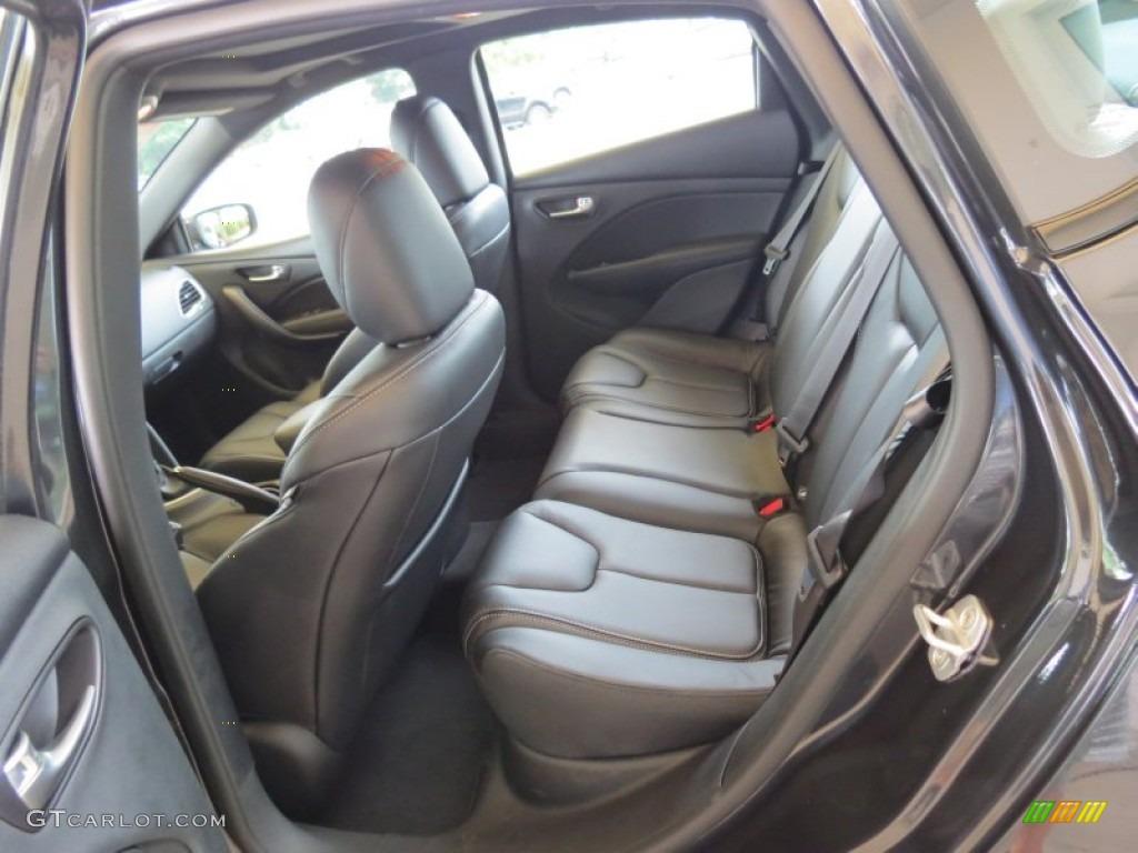 Black Interior 2013 Dodge Dart Limited Photo 69002493
