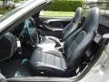 Black 2004 Porsche 911 Interiors