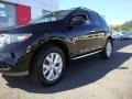 2011 Super Black Nissan Murano SL AWD  photo #2