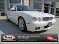 2009 Porcelain White Jaguar XJ XJ8 #68988336