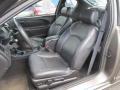 Ebony Black 2003 Chevrolet Monte Carlo SS Interior Color