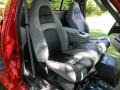 2003 F150 SVT Lightning Medium Graphite Grey Interior