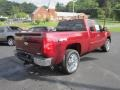 2013 Deep Ruby Metallic Chevrolet Silverado 1500 LT Extended Cab 4x4  photo #7