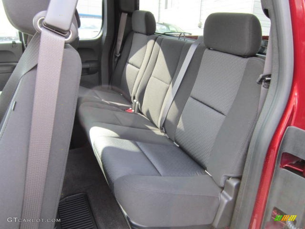 2013 Silverado 1500 LT Extended Cab 4x4 - Deep Ruby Metallic / Ebony photo #14