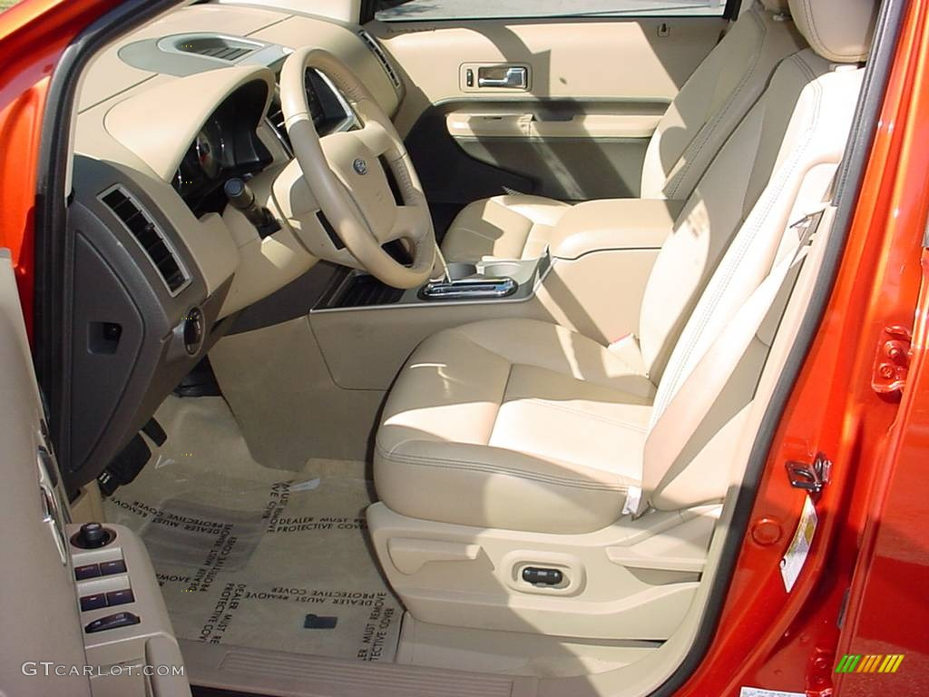 camel interior 2007 ford edge sel plus photo 690462. Black Bedroom Furniture Sets. Home Design Ideas