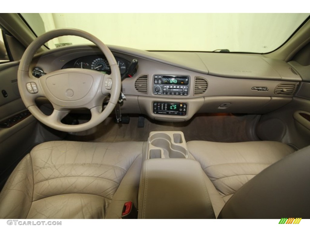 2001 Buick Century Limited Taupe Dashboard Photo 69054086