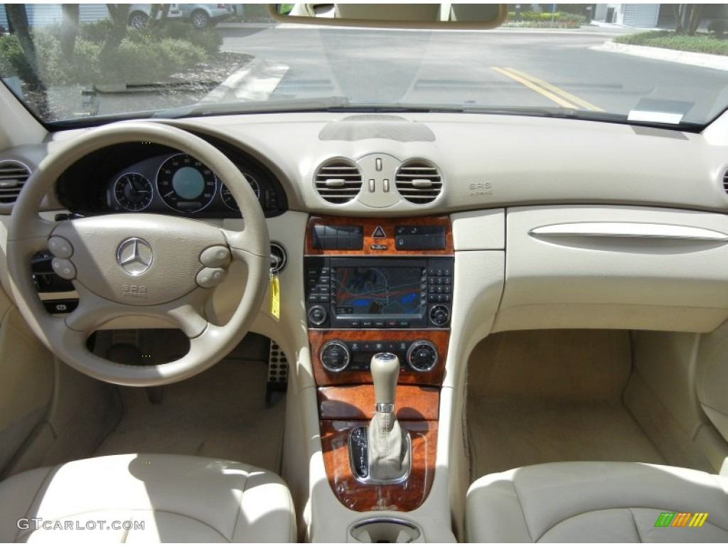 2007 mercedes benz clk 350 coupe stone dashboard photo 69060925