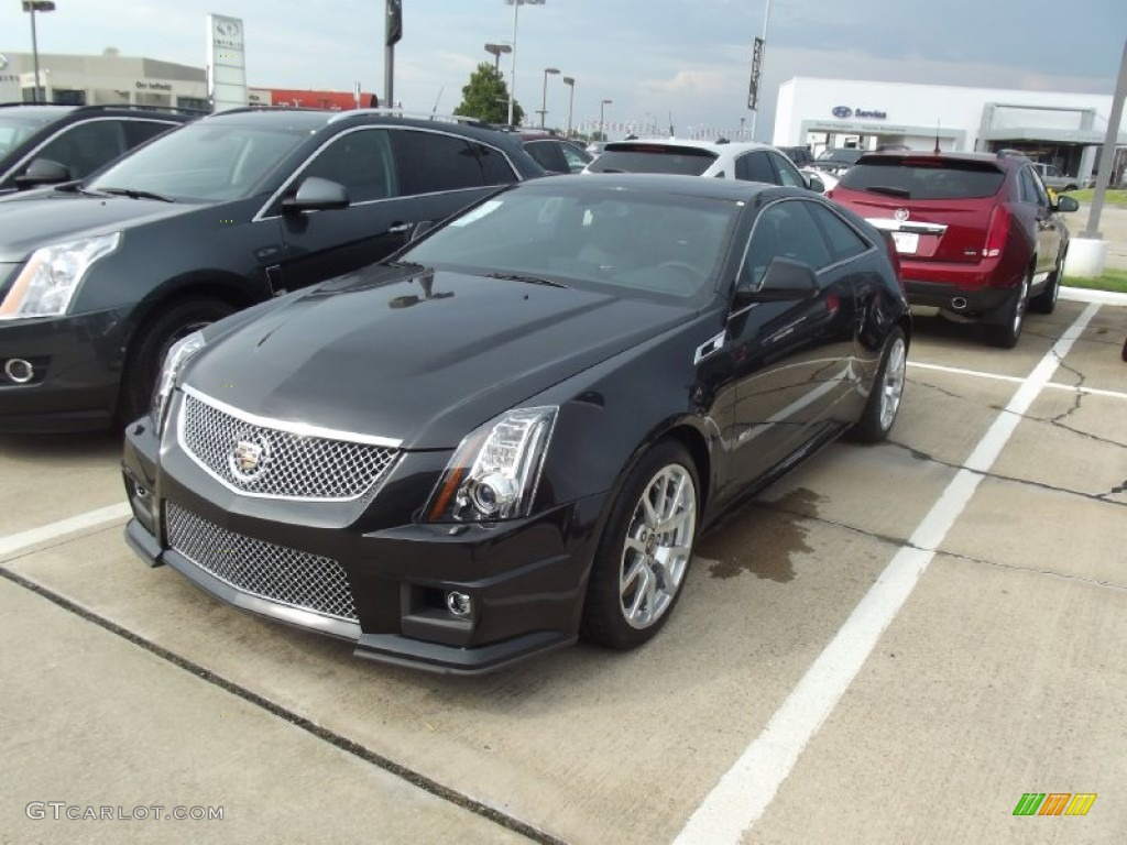 Black Diamond Tricoat Cadillac CTS V Coupe