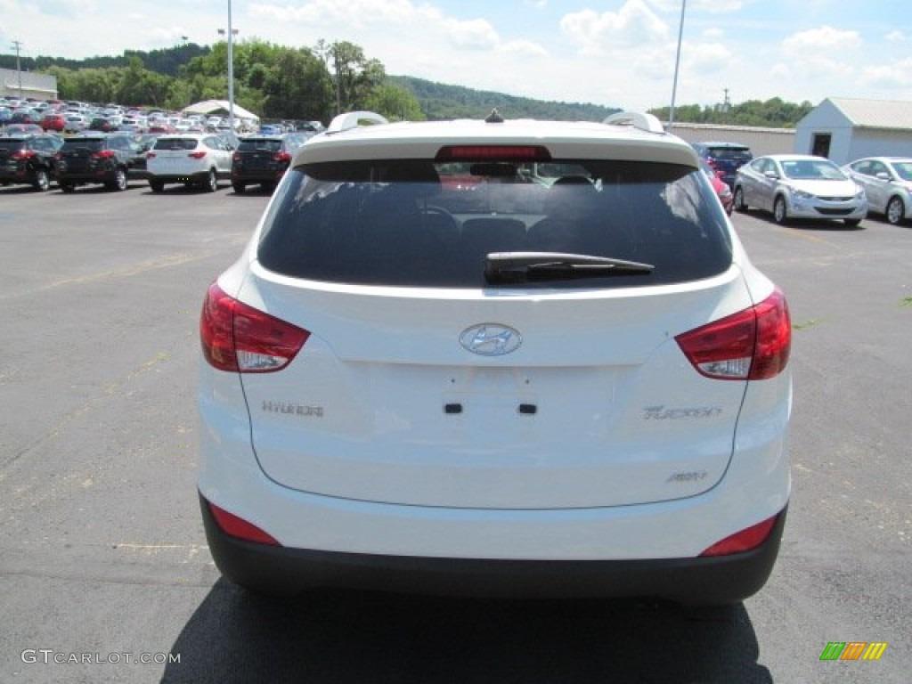 2013 Cotton White Hyundai Tucson Gls Awd 69028380 Photo