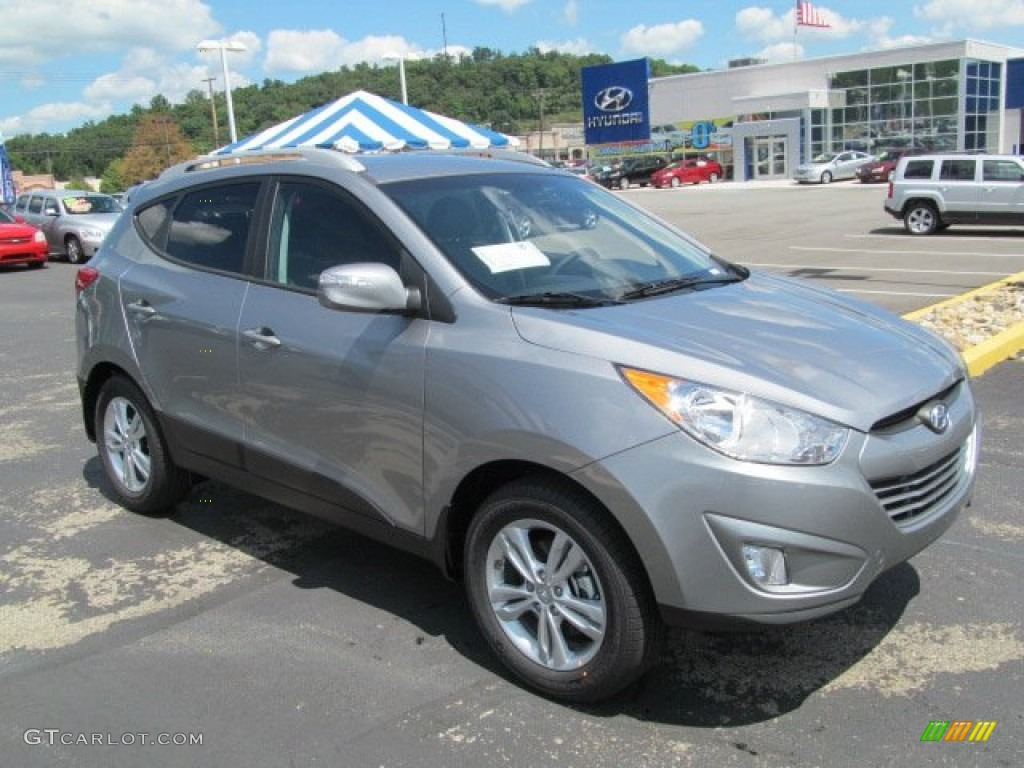 2013 graphite gray hyundai tucson gls awd 69028377 car color galleries. Black Bedroom Furniture Sets. Home Design Ideas