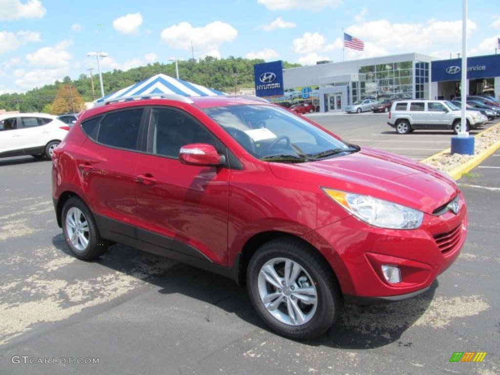 2013 Garnet Red Hyundai Tucson Gls Awd 69028376 Photo 5