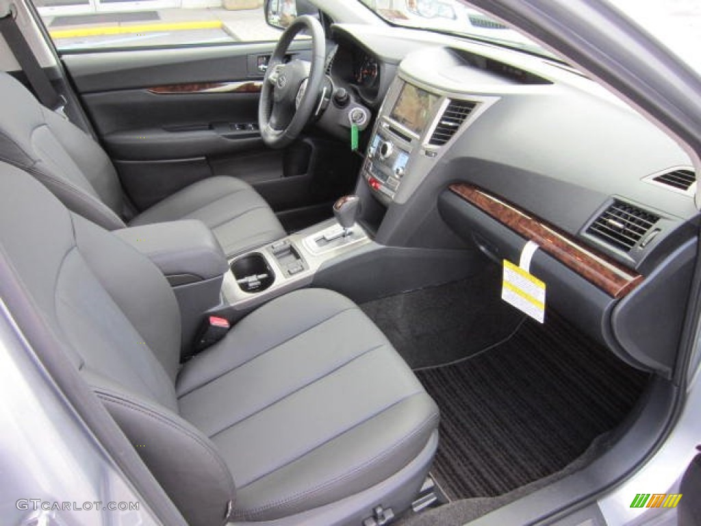 Off black leather interior 2013 subaru legacy 2 5i limited photo 69089905