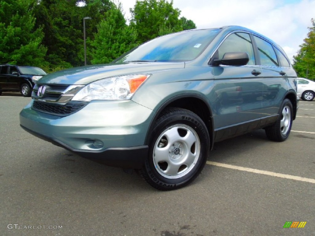 2010 CR-V LX - Opal Sage Metallic / Ivory photo #1