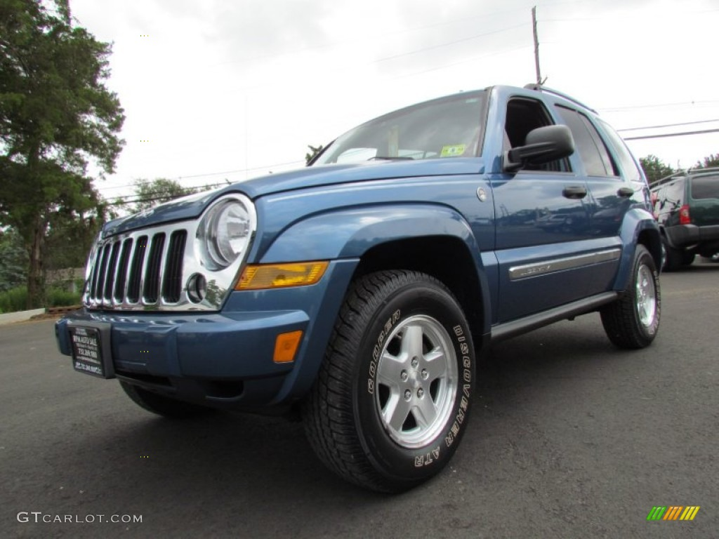 All Types liberty crd : 2006 Atlantic Blue Pearl Jeep Liberty CRD Limited 4x4 #69094517 ...